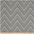 Georgette Home Decor Chevron Grey/Black