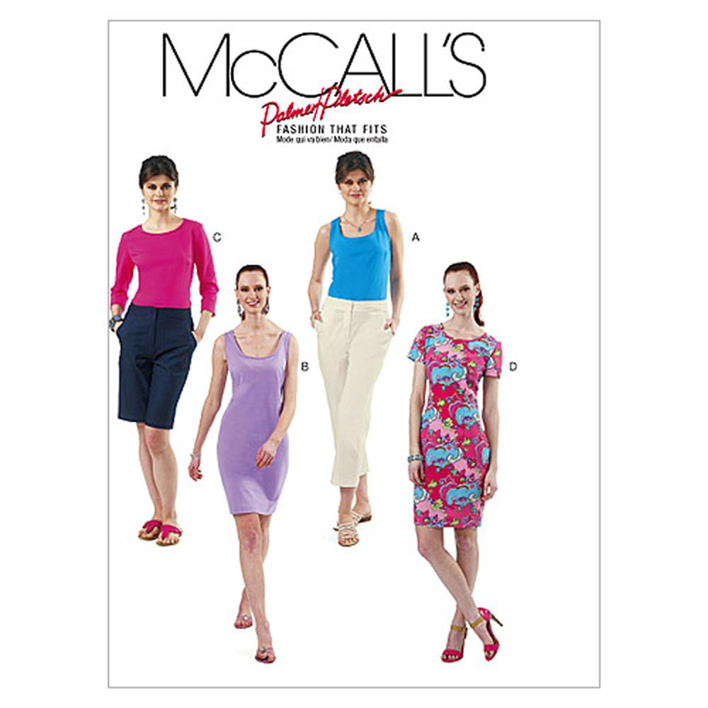 McCall's Misses' Tops and Dresses Pattern M6355 Size B50
