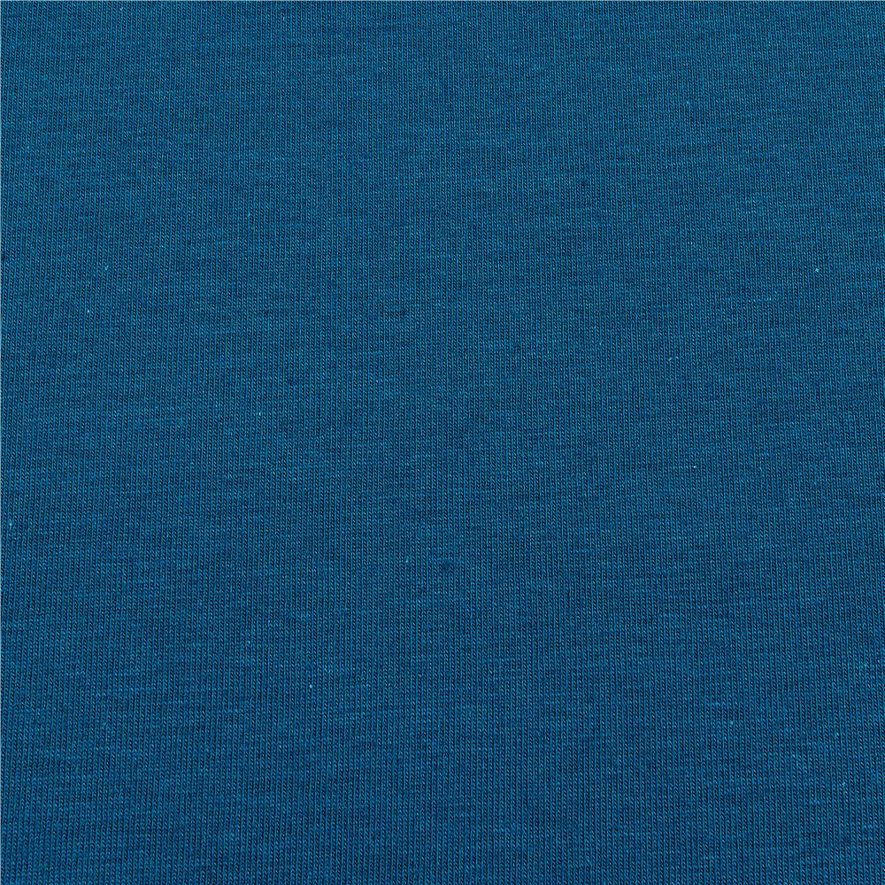 5217b580d14 Fabric Merchants Stretch Jersey Knit Solid Teal - Discount Designer ...