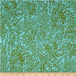 Valori Wells Quill Leaf Spray Sea Glass Aqua