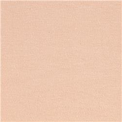 Cotton Lycra Jersey Knit Peach Blush Fabric