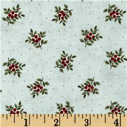 Moda Under the Mistletoe Tiny Holly Frost