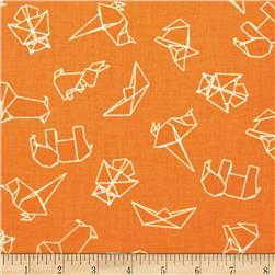 Moda Mixed Bag Origami Orange