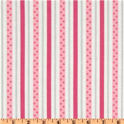 Cozy Cotton Flannel Dot Stripe Retro