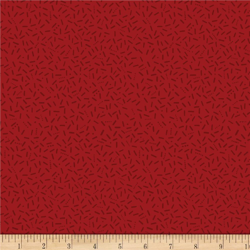 Red Carpet Texture Pattern: Wilmington Essentials Red Carpet Sticks Red On Red