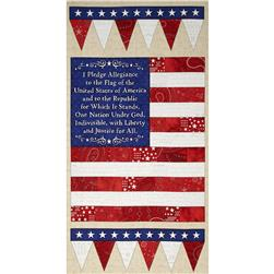 American Dream 24 In. Flag Panel Multi