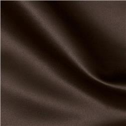 Satin Solid Chocolate