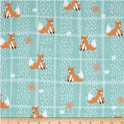 Wonderful Woodlands Fox Plaid Teal