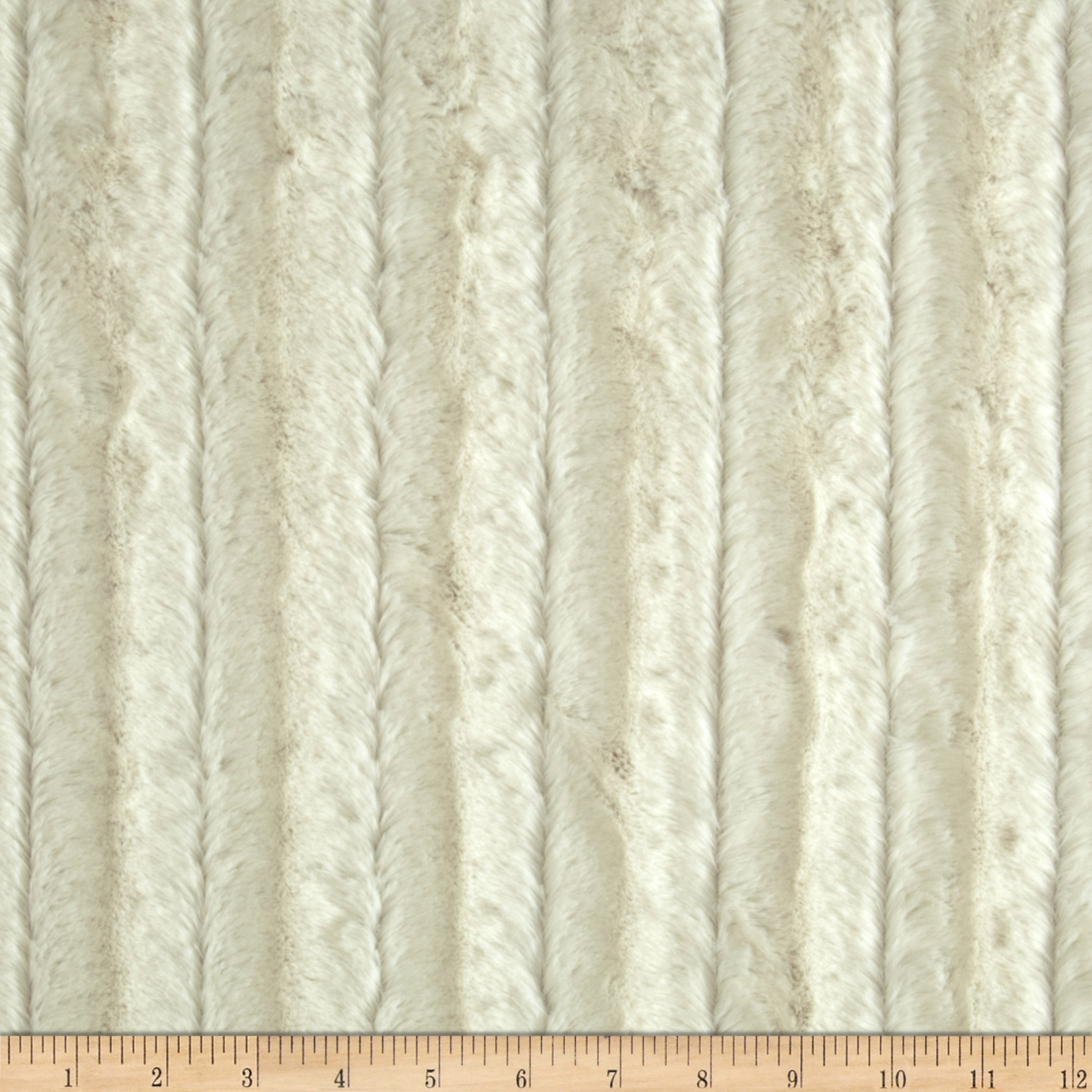 Minky Chinchilla Cuddle Ivory Fabric