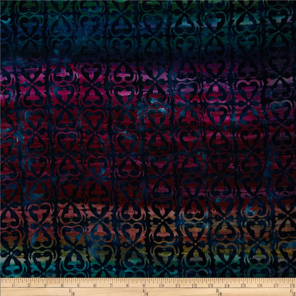 Artisan Batiks Regal  Stripe Garden
