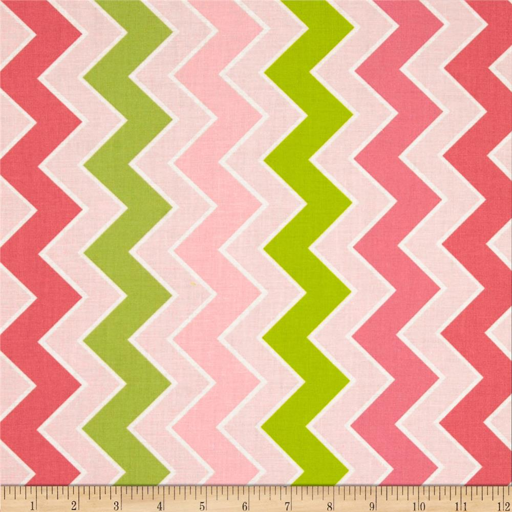 Riley Blake Medium Shaded Chevron Summer