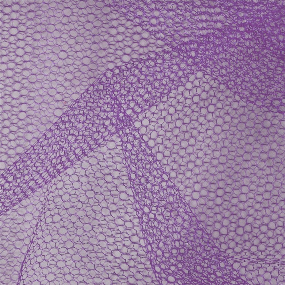 Nylon Netting Lavender Fabric By The Yard