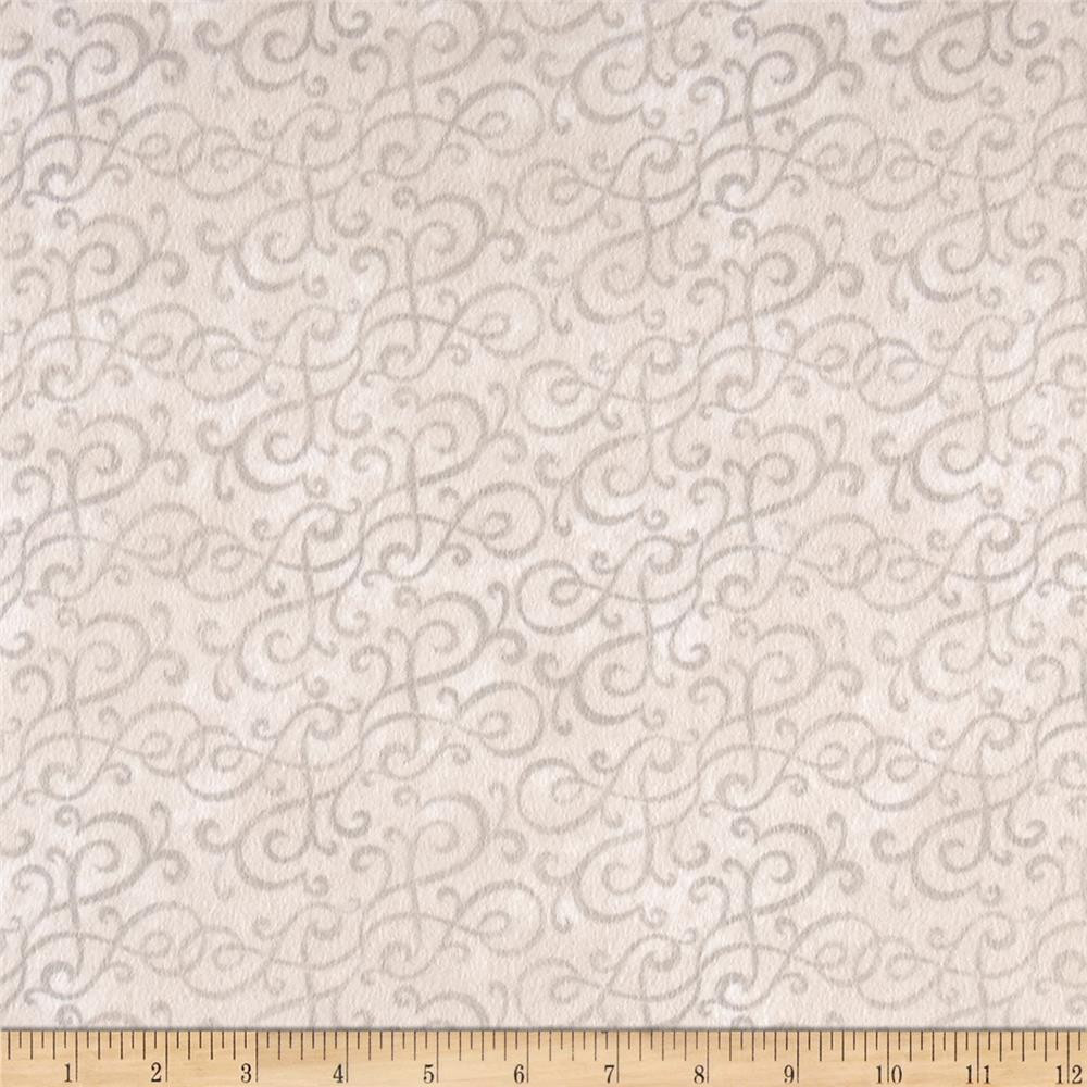 Flannel Scroll Taupe