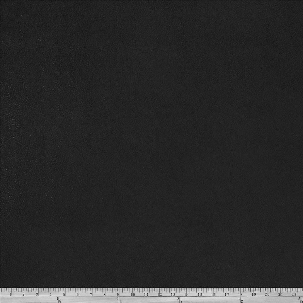 Fabricut Willowdale Faux Leather Black