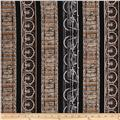 Kanvas Railway Express Railway Stripe Black