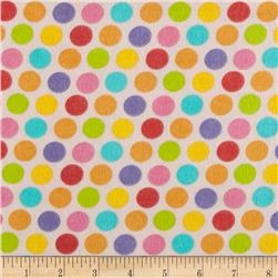 Alpine Flannel Fruit Flower Dots Multi