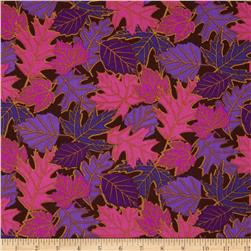 Falling Leaves Purple