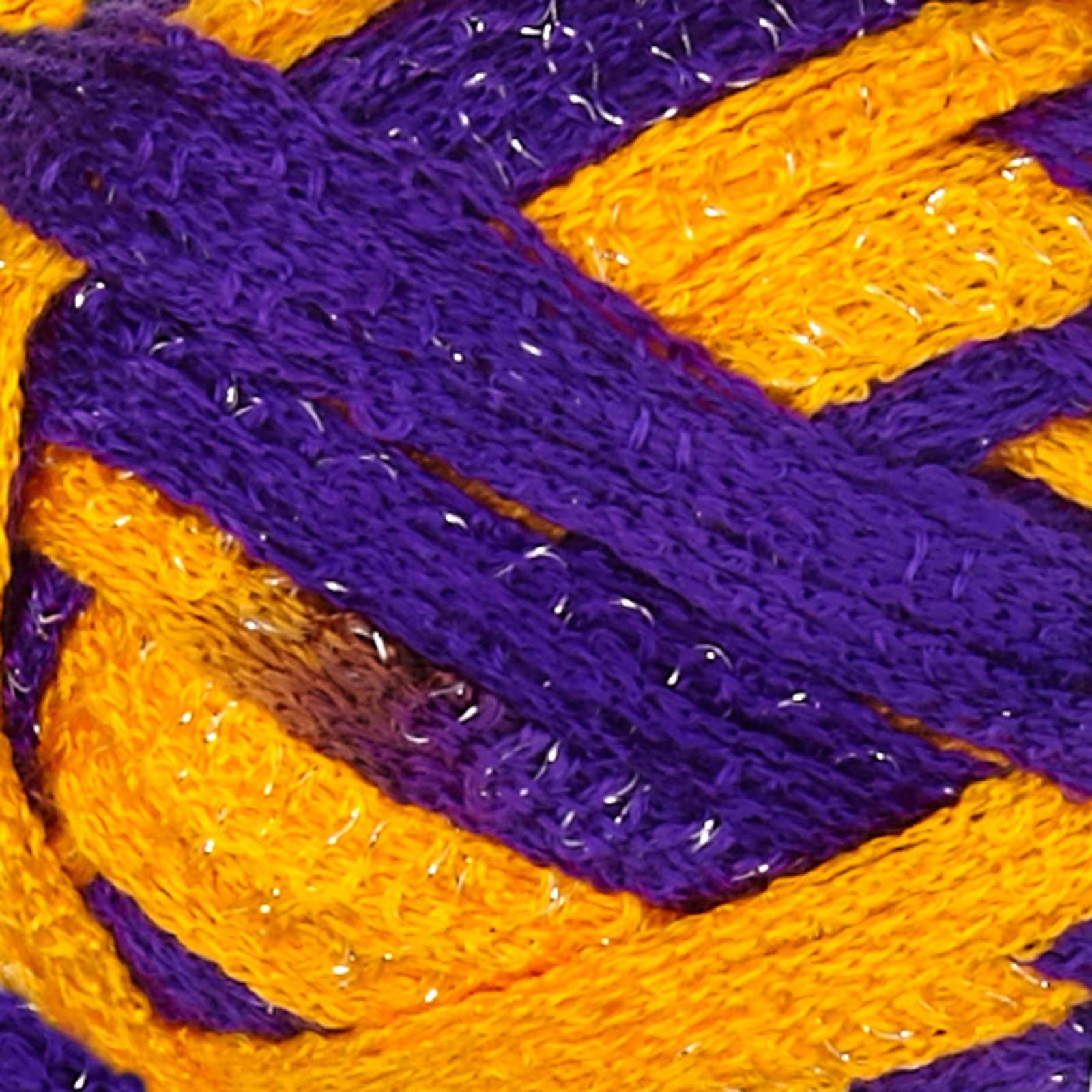 Red Heart Boutique Sashay Team Spirit Yarn Purple/Gold