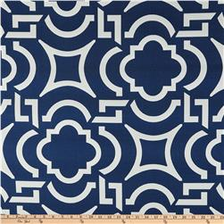 Richloom Solarium Outdoor Carmody Navy Home Decor Fabric
