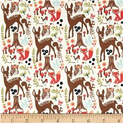 Riley Blake Woodland Spring Cream