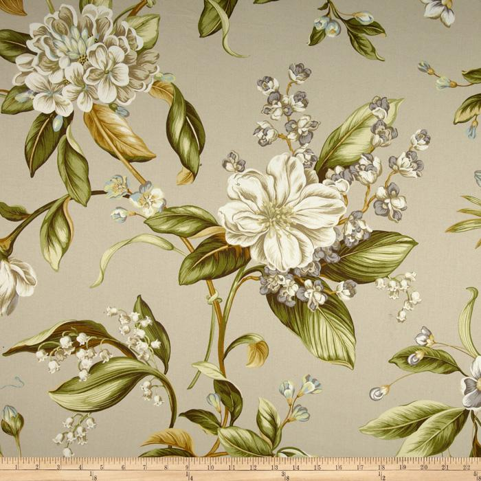 Waverly Williamsburg Collinson Floral Twill Spa