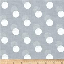 Sparkle & Fade Metallic Shadow Polka Dot Slate/Silver