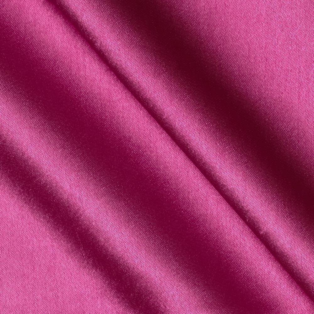 Reversible Crepe Back Satin Fuchsia