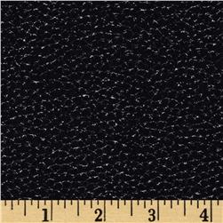 Open Road Leather Texture Black Fabric