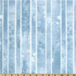 The Garden Club Stripe Texture Light Blue