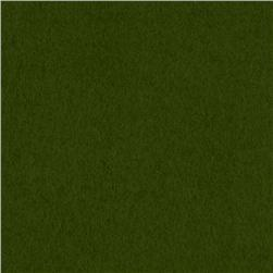 Kaufman Flannel Solid Jungle Green Fabric