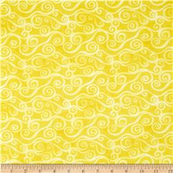 Essentials Swirly Scroll Yellow