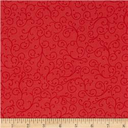 Gypsy Swirl Coral Fabric