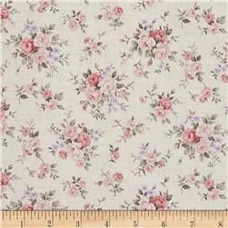 Kaufman Margeaux Pretty Flower Vintage