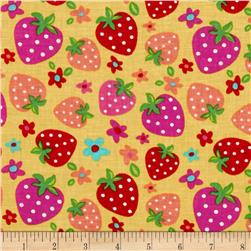 Newcastle Novelties Strawberry Yellow