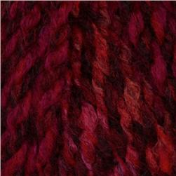 Lion Brand Tweed Stripes Yarn (202) Mixed Berries
