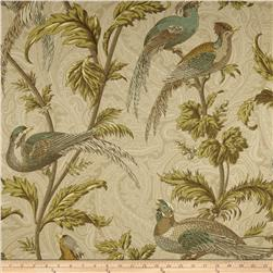 Braemore Pheasant Hunt Twill Birch Fabric