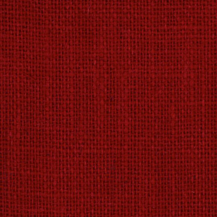 60'' Sultana Burlap Red Fabric By The Yard