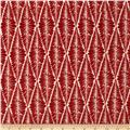 Valori Wells Ashton Road Flannel Fern Stripe Cardinal