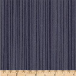 Designer Nylon Suiting Stripes Indigo