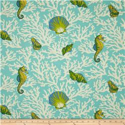 Swavelle/Mill Creek Indoor/Outdoor Kittery Aqua Fabric