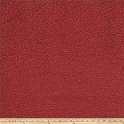 Fabricut Tasmania Faux Leather Pomegranate
