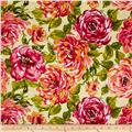 Ambrosia Large Floral Lime