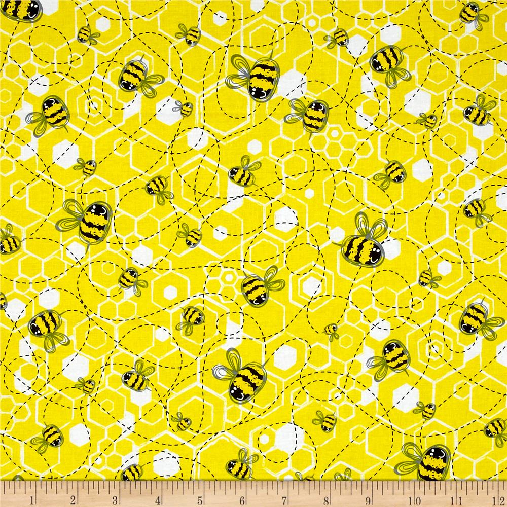 Kanvas Bumble Bumble Buzzing Bee Black/Yellow