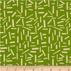 Premier Prints Sprinkles Grasshopper Green/Natural