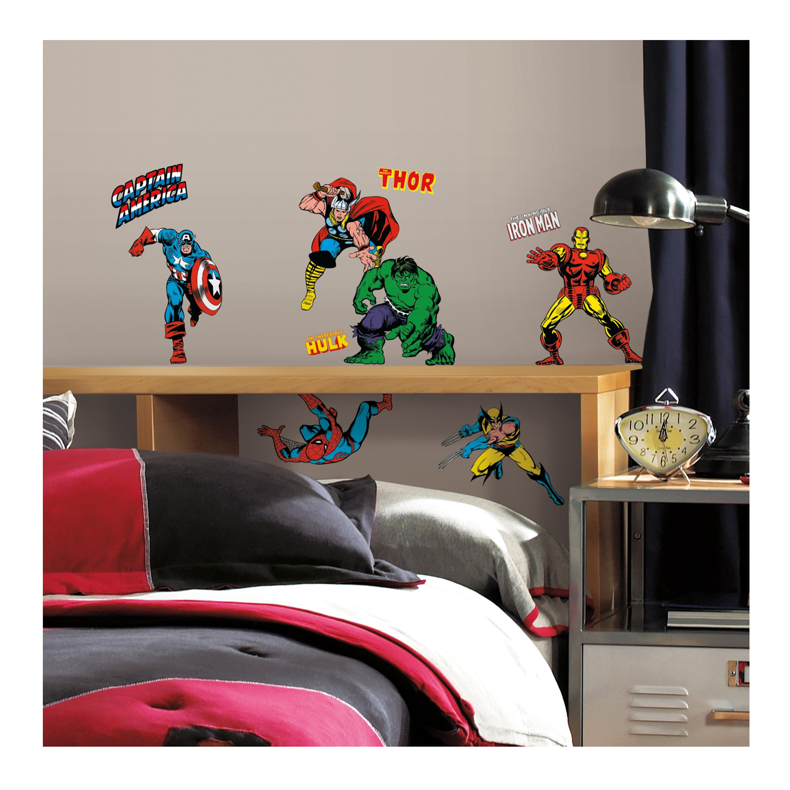 Marvel Character Wall Wall Decals by Stardom Specialty in USA