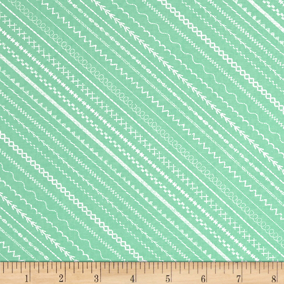 Sew_Special_Stitches_Green_Fabric