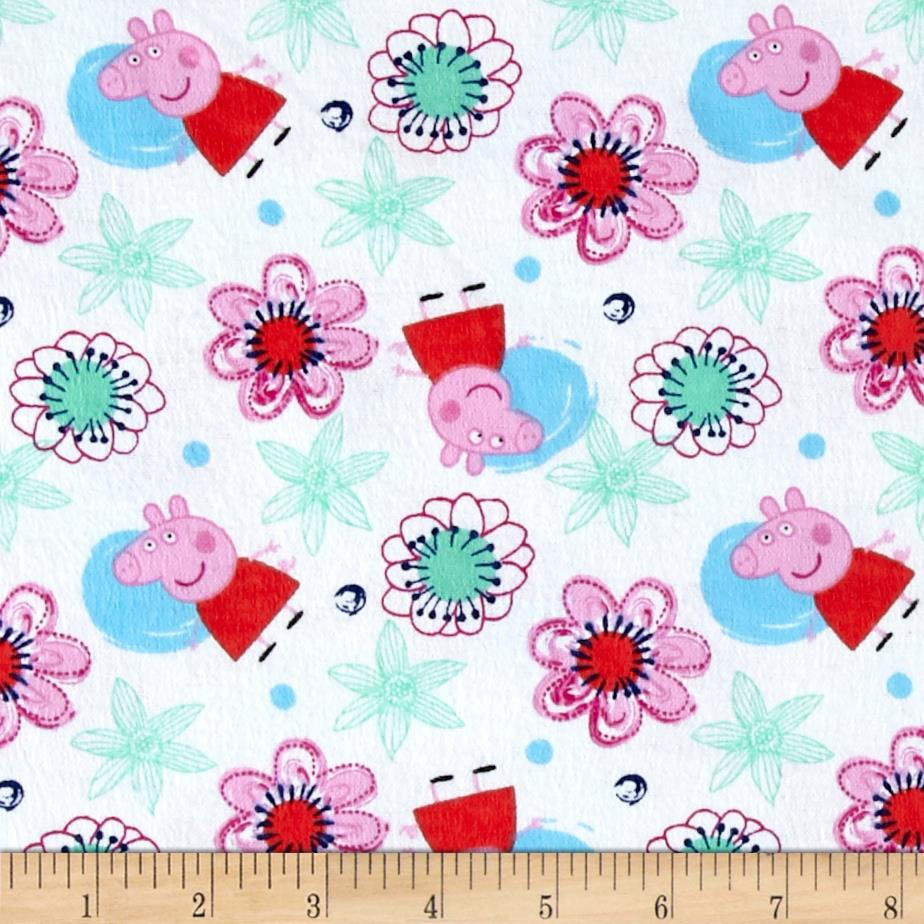 Peppa Pig Everyday Flannel White