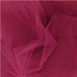 54'' Wide Tulle Light Garnet Fabric
