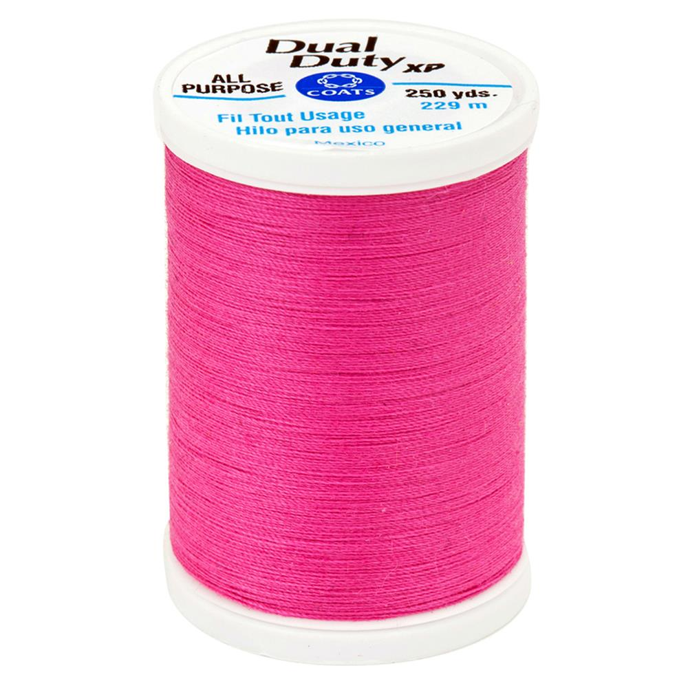Coats & Clark Dual Duty XP 250yd Dark Rose