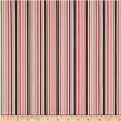 Riley Blake Round Up Stripe Pink